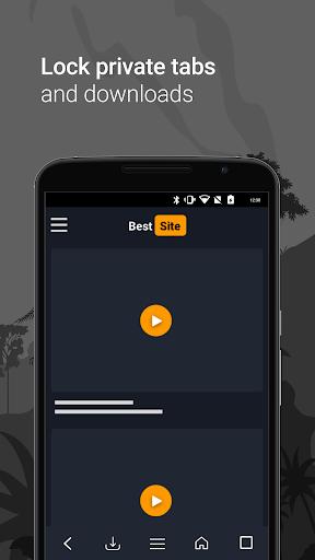 Downloader & Private Browser скриншот 3