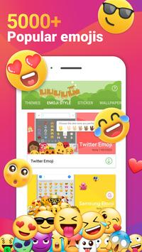iMore Cute Emojis Keyboard-Cool шрифт клавиатуры скриншот 1