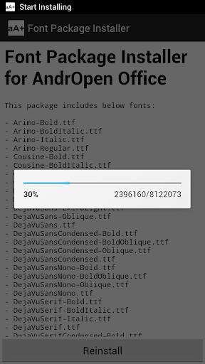 Font Pack скриншот 2