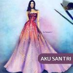 Как рисовать платья