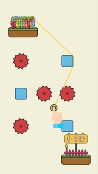 Rope Rescue! - Unique Puzzle скриншот 2