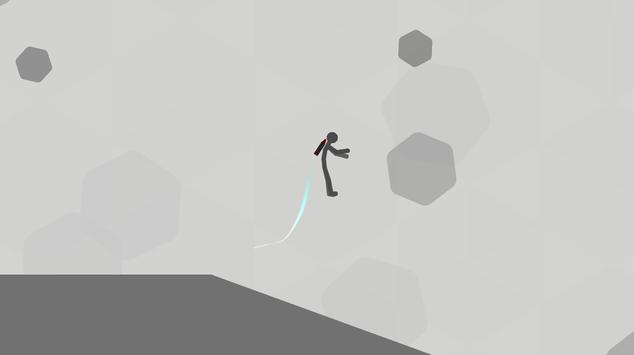 Stickman Falling скриншот 2