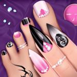 Дизайн ногтей - Салон красоты игры ногти