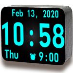 Огромные цифровые часы