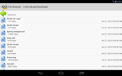 EML Reader FREE скриншот 5