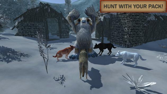Симулятор Волка: Эволюция Диких Животных скриншот 1