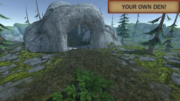 Симулятор Волка: Эволюция Диких Животных скриншот 3