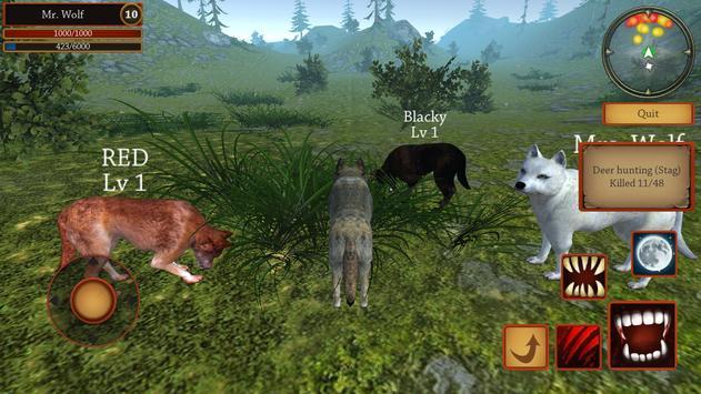 Симулятор Волка: Эволюция Диких Животных скриншот 5
