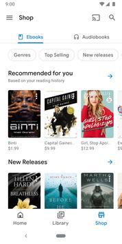 Google Play Книги скриншот 1