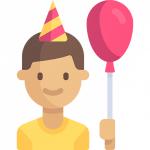 Дни рождения контактов