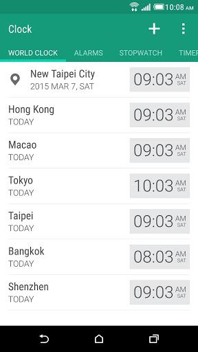HTC Часы скриншот 1