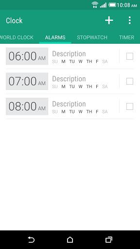 HTC Часы скриншот 2