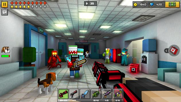 Pixel Gun 3D: Battle Royale скриншот 4
