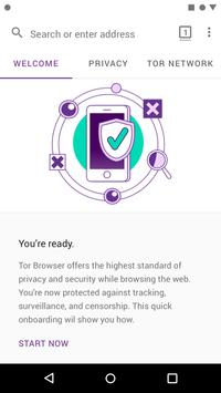 Tor Browser скриншот 1