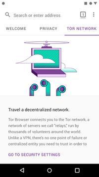 Tor Browser скриншот 3