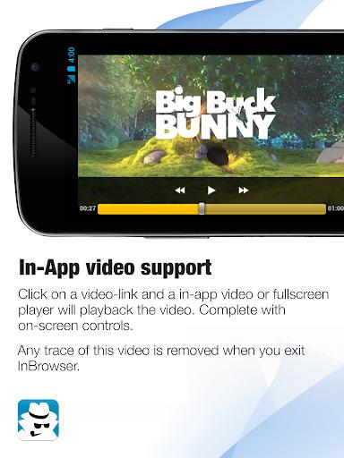 InBrowser - Инкогнито Просмотр скриншот 3
