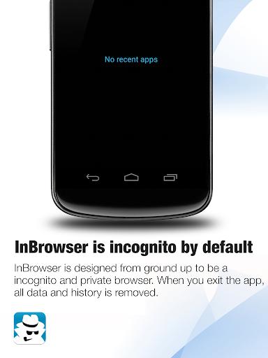 InBrowser - Инкогнито Просмотр скриншот 5