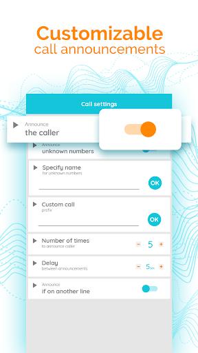 Диктор для звонков и смс скриншот 2