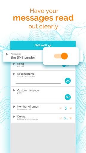 Диктор для звонков и смс скриншот 3