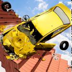 Beam Drive Crash Death Stair Car Crash Simulator