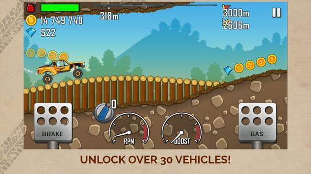 Hill Climb Racing скриншот 2