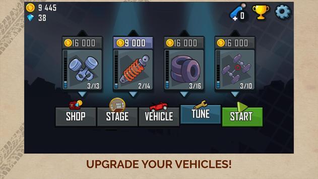 Hill Climb Racing скриншот 3