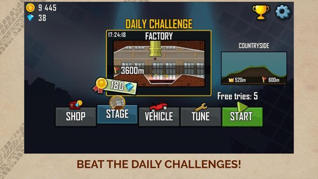 Hill Climb Racing скриншот 5