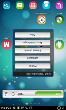Управление Поворот экрана скриншот 3