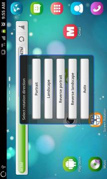 Управление Поворот экрана скриншот 4