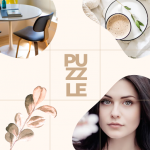 PuzzleStar - шаблон коллажа для Instagram
