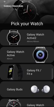 Galaxy Wearable скриншот 2