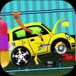 Автомойка и ремонт салона: дети автомеханик игры
