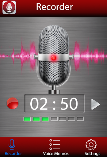 Диктофон - Voice recorder скриншот 1