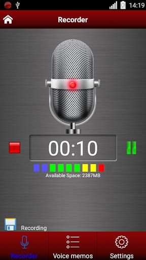 Диктофон - Voice recorder скриншот 3