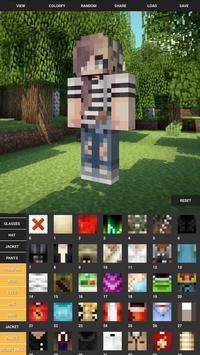 Custom Skin Creator For Minecraft скриншот 1