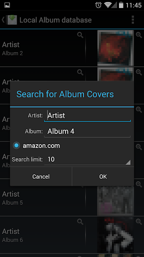 Album Cover Finder скриншот 4