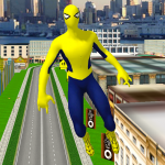 Flying Spider Hero City Rescuer Story