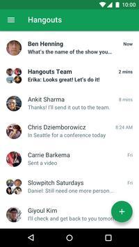 Hangouts скриншот 1