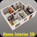 Домашний дизайн интерьера 3d