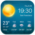 Виджет прогноза погоды