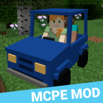 MCPE Mod Transport: Car, Ship, Plane