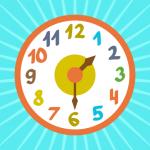 Учим время, часы, минуты - развивающая игра