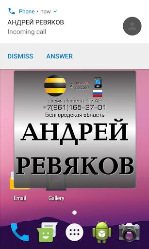Инфо номер free - супер АОН скриншот 4