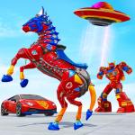 Игра Horse robot car