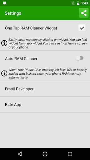 Clean RAM Memory скриншот 3