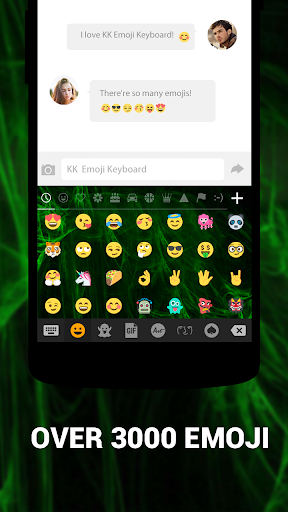 Клавиатура смайлов KK Emoticon скриншот 1