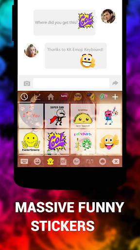 Клавиатура смайлов KK Emoticon скриншот 4