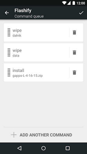 Flashify (for root users) скриншот 5