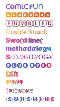 Fonts for Instagram скриншот 1