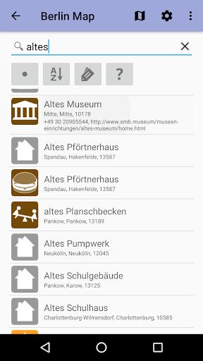 Берлин: Офлайн карта скриншот 2